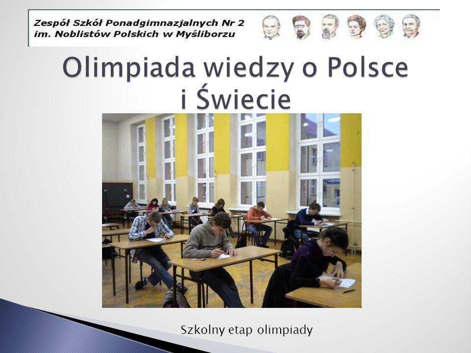 Olimpiada wiedzy o Polsce i Świecie