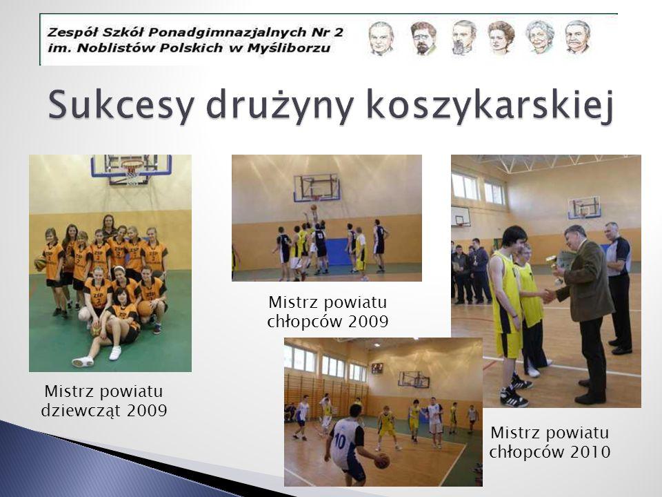 Sukcesy drużyny koszykarskiej