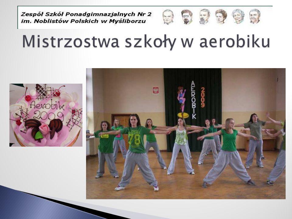 Mistrzostwa szkoły w aerobiku