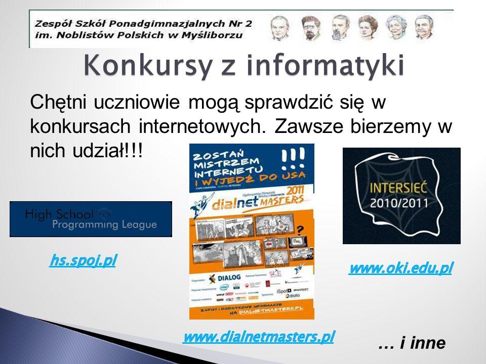 Konkursy z informatyki