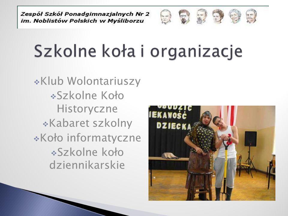 Szkolne koła i organizacje