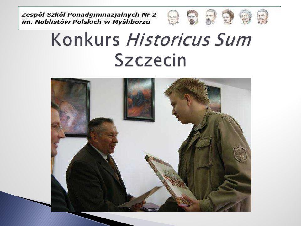 Konkurs Historicus Sum Szczecin
