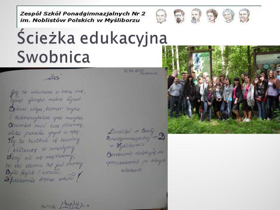 Ścieżka edukacyjna Swobnica