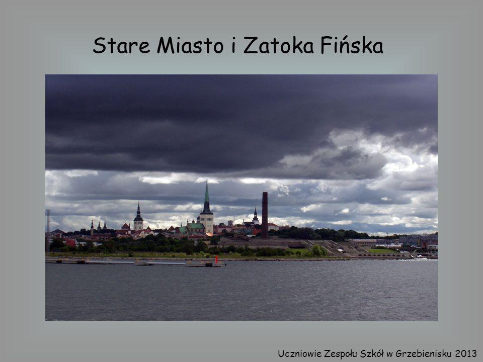 Stare Miasto i Zatoka Fińska