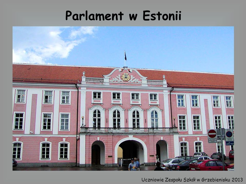 Parlament w Estonii Uczniowie Zespołu Szkół w Grzebienisku 2013