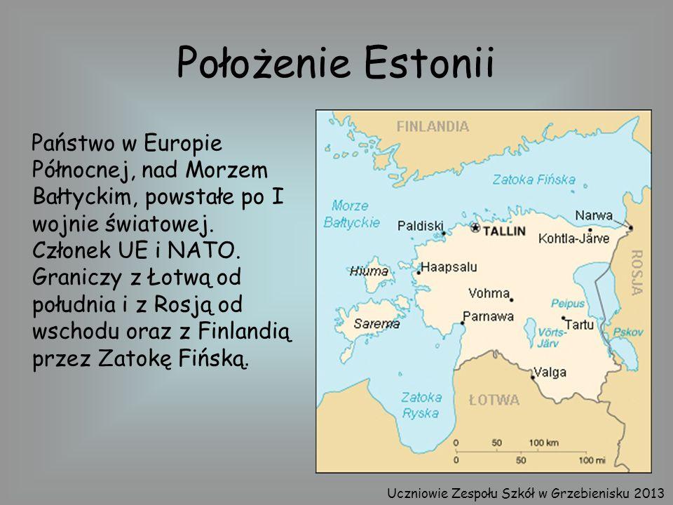 Położenie Estonii