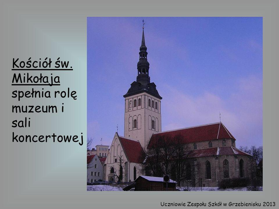 Kościół św. Mikołaja spełnia rolę muzeum i sali koncertowej