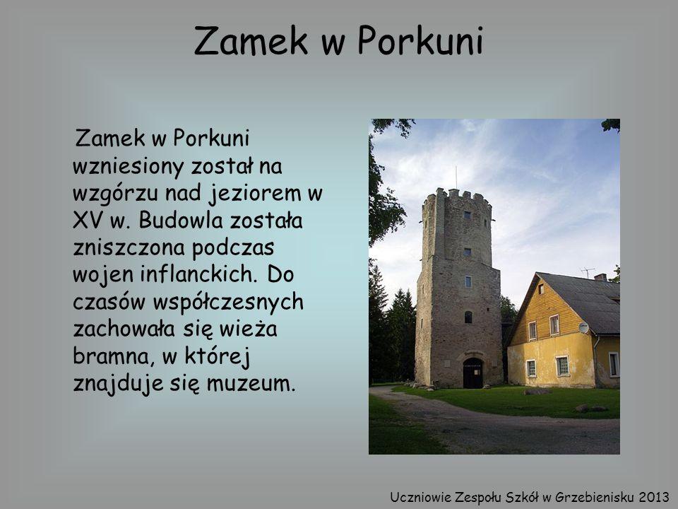 Zamek w Porkuni