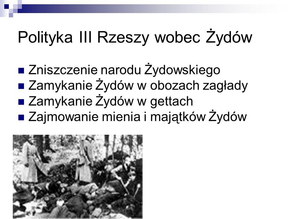 Polityka III Rzeszy wobec Żydów