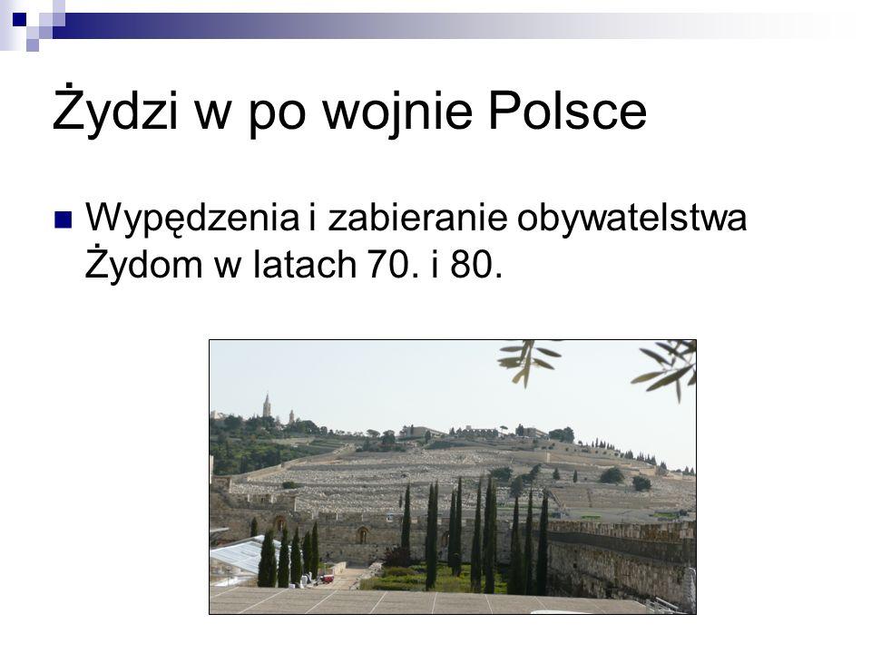 Żydzi w po wojnie Polsce