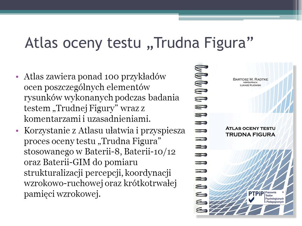 "Atlas oceny testu ""Trudna Figura"