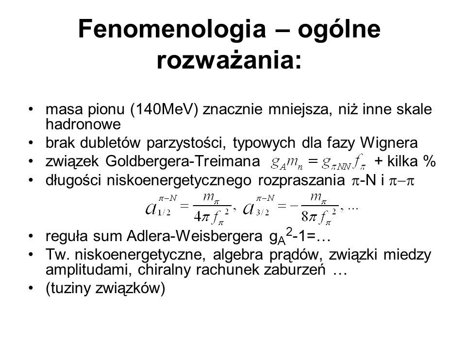 Fenomenologia – ogólne rozważania: