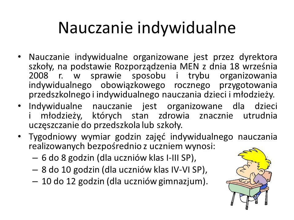 Nauczanie indywidualne