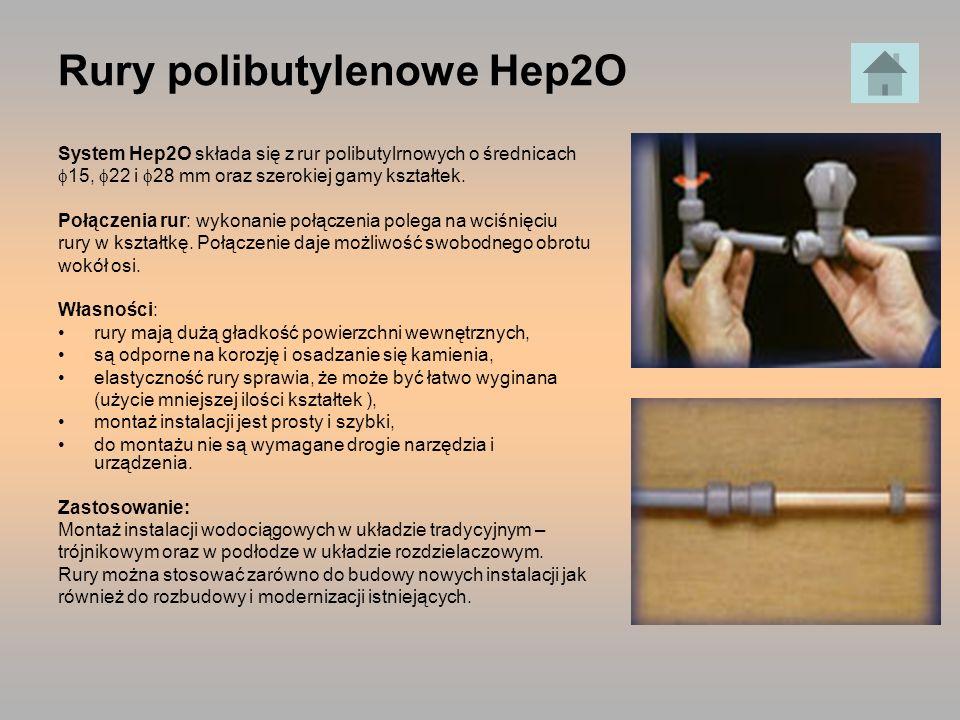 Rury polibutylenowe Hep2O