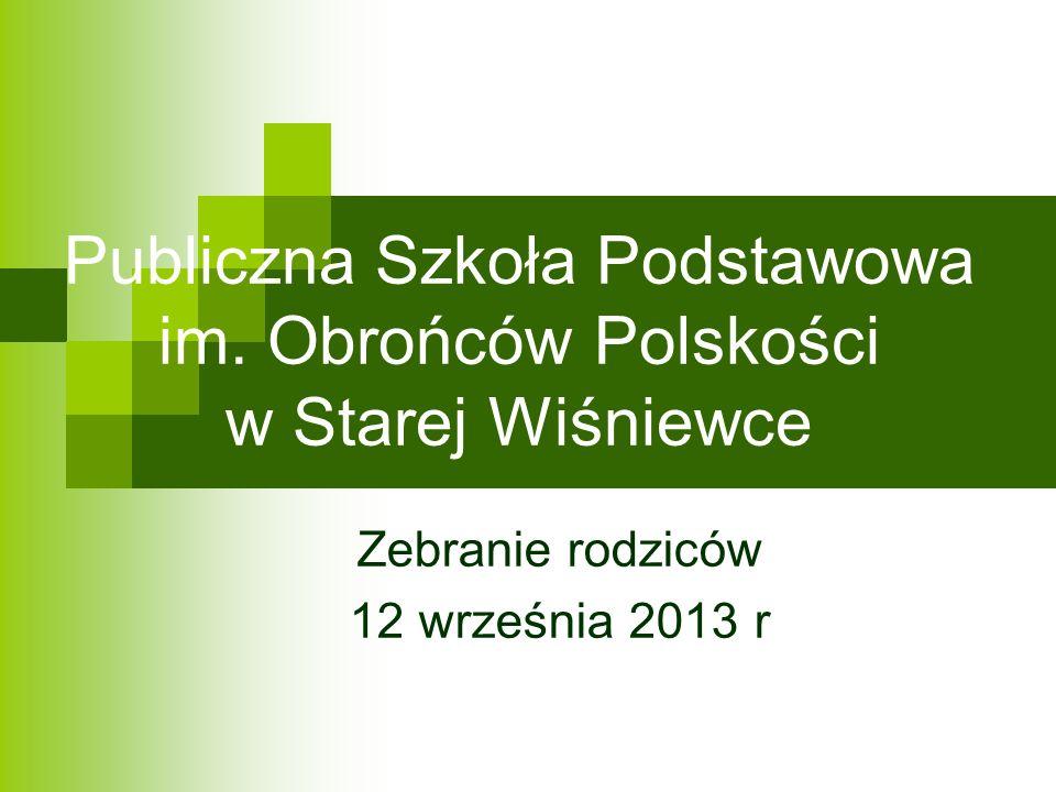 Publiczna Szkoła Podstawowa im. Obrońców Polskości w Starej Wiśniewce