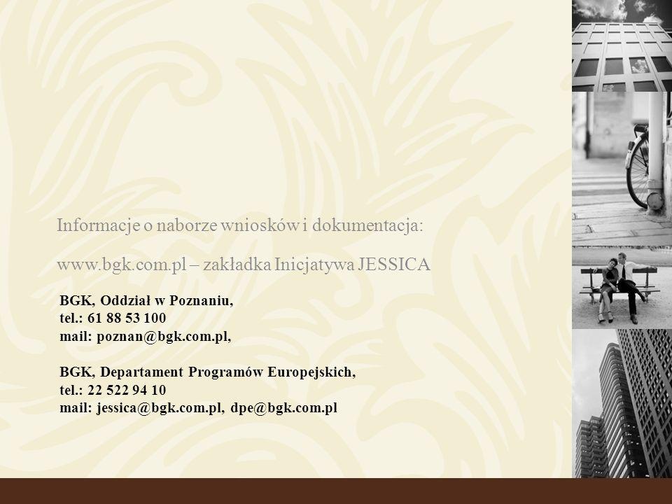 Informacje o naborze wniosków i dokumentacja: