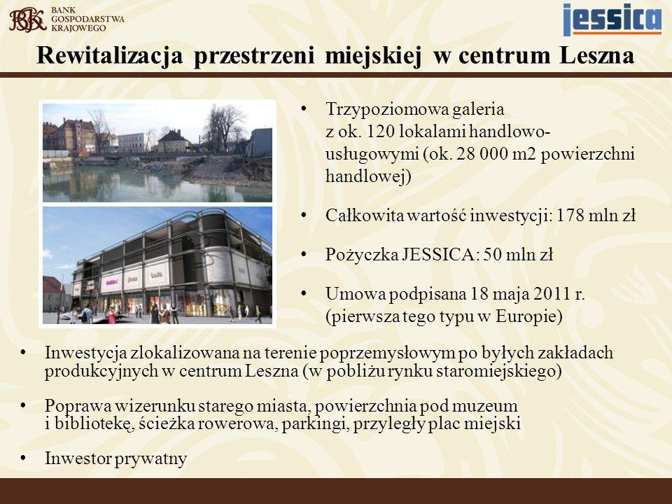 Rewitalizacja przestrzeni miejskiej w centrum Leszna