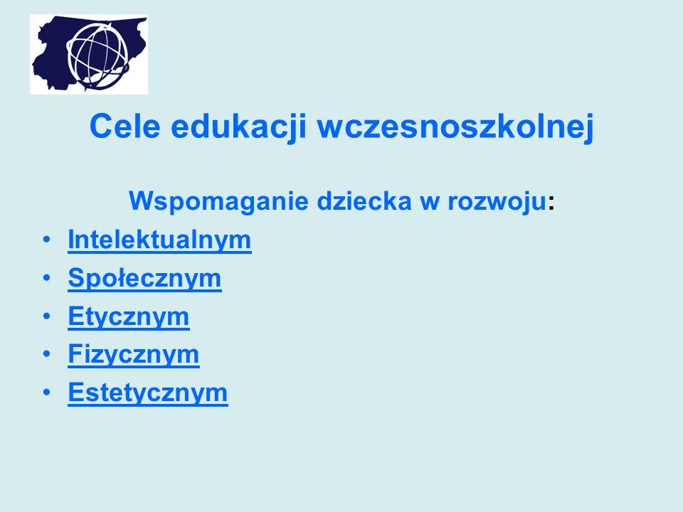 Cele edukacji wczesnoszkolnej