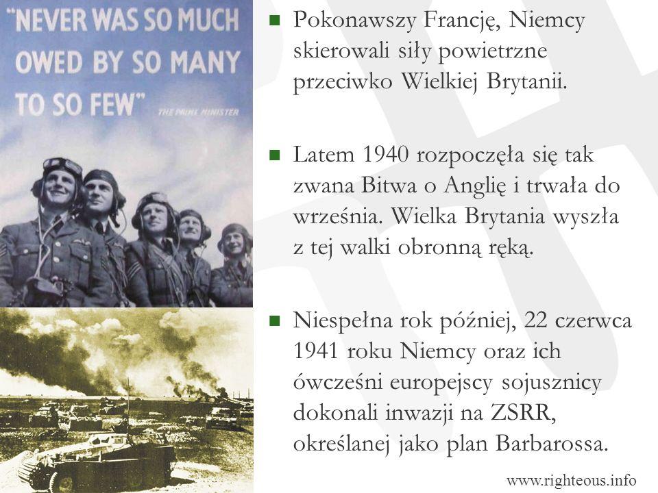 Pokonawszy Francję, Niemcy skierowali siły powietrzne przeciwko Wielkiej Brytanii.