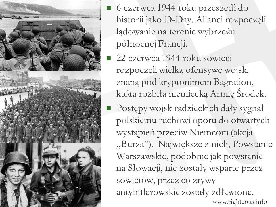 6 czerwca 1944 roku przeszedł do historii jako D-Day