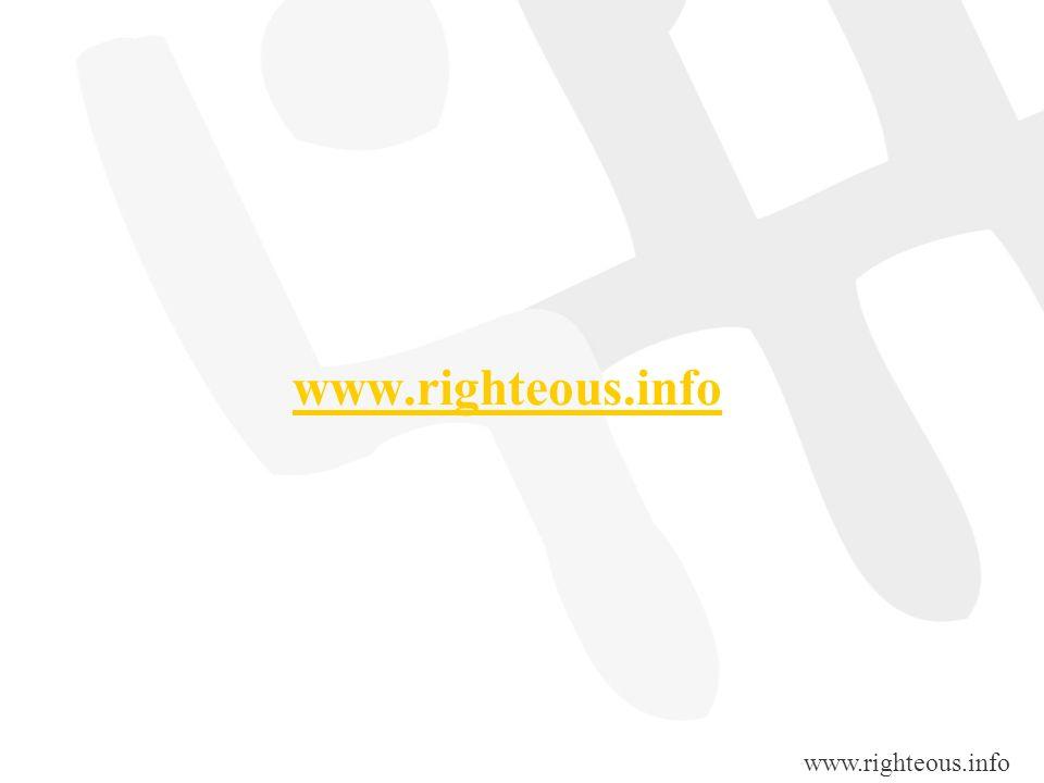 www.righteous.info www.righteous.info