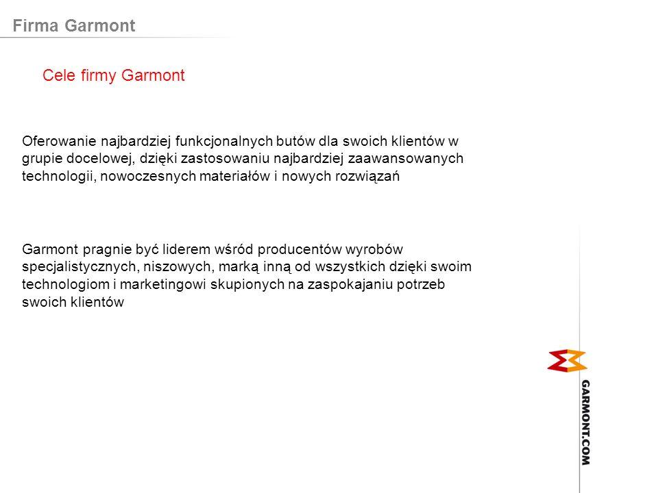 Firma Garmont Cele firmy Garmont