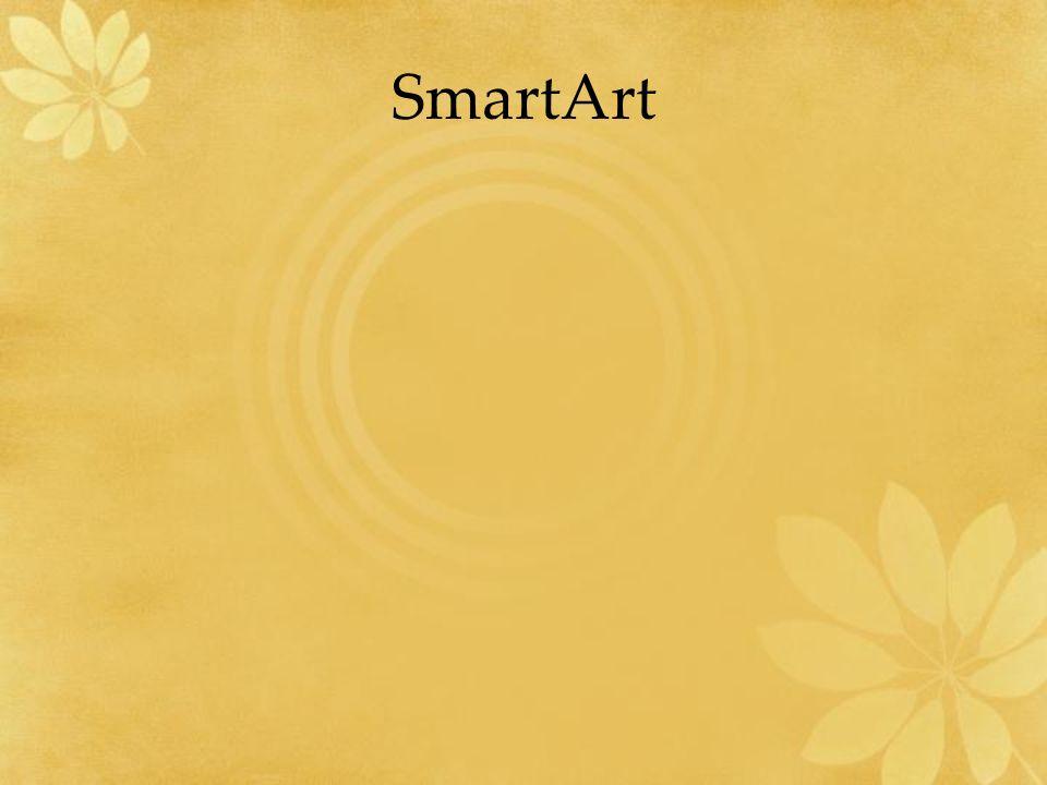 SmartArt Utwórz na tym slajdzie taki smartart jaki umieszczony jest z lewej strony slajdu