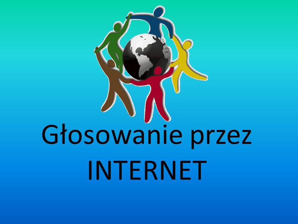 Głosowanie przez INTERNET
