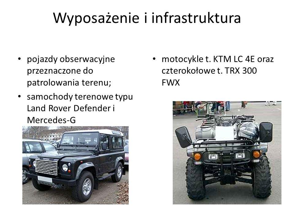 Wyposażenie i infrastruktura