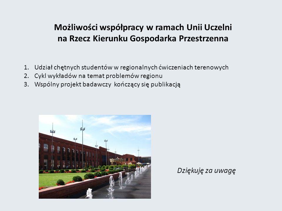 Możliwości współpracy w ramach Unii Uczelni