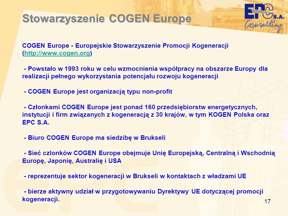 Stowarzyszenie COGEN Europe