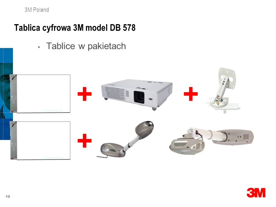 Tablica cyfrowa 3M model DB 578
