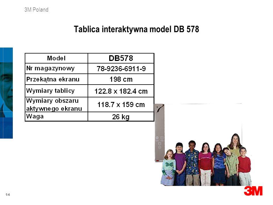 Tablica interaktywna model DB 578