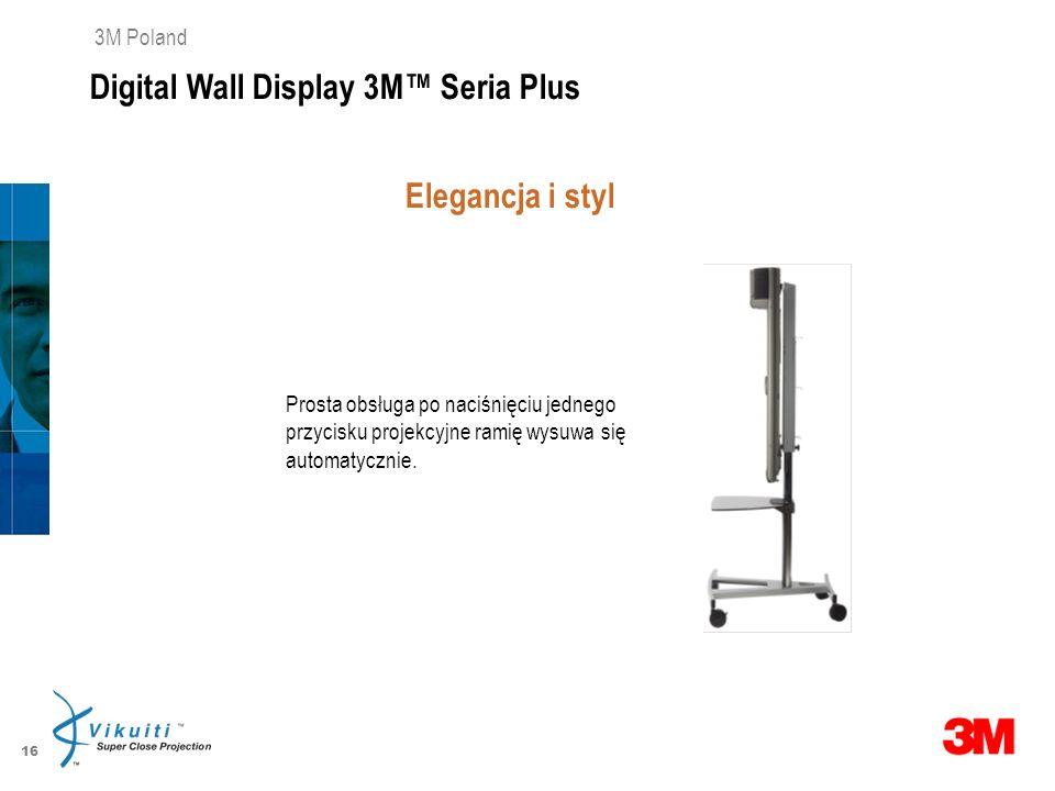 Digital Wall Display 3M™ Seria Plus