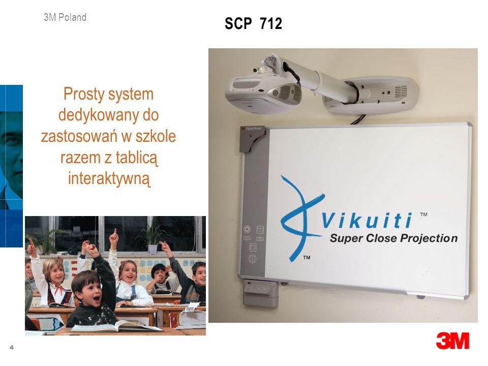 SCP 712 Prosty system dedykowany do zastosowań w szkole razem z tablicą interaktywną