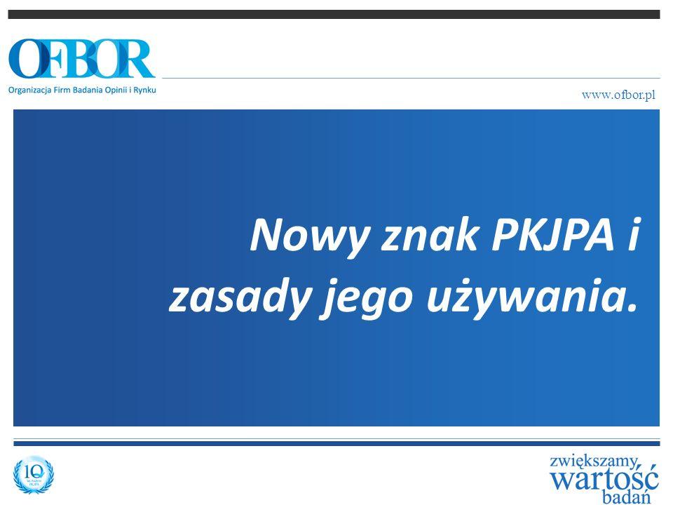 Nowy znak PKJPA i zasady jego używania.