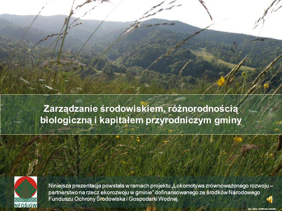 Zarządzanie środowiskiem, różnorodnością biologiczną i kapitałem przyrodniczym gminy