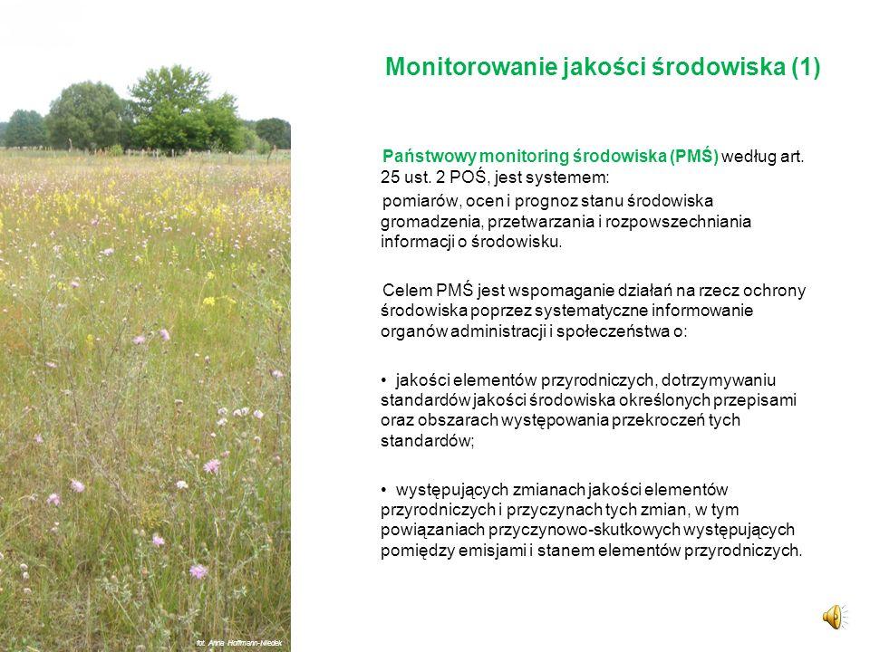 Monitorowanie jakości środowiska (1)