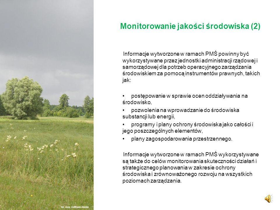 Monitorowanie jakości środowiska (2)