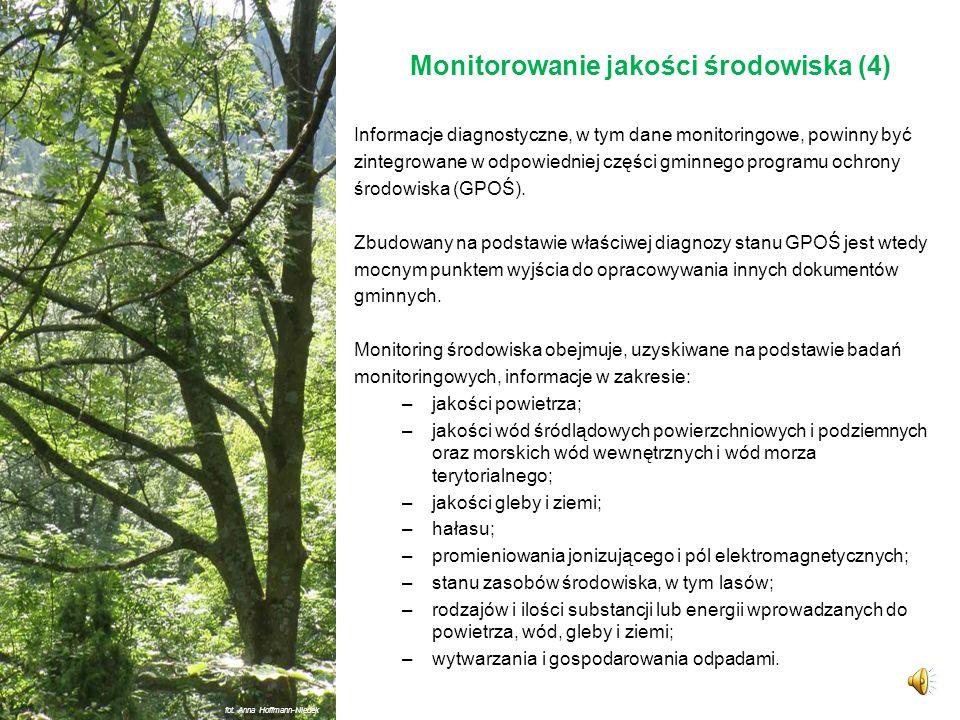 Monitorowanie jakości środowiska (4)