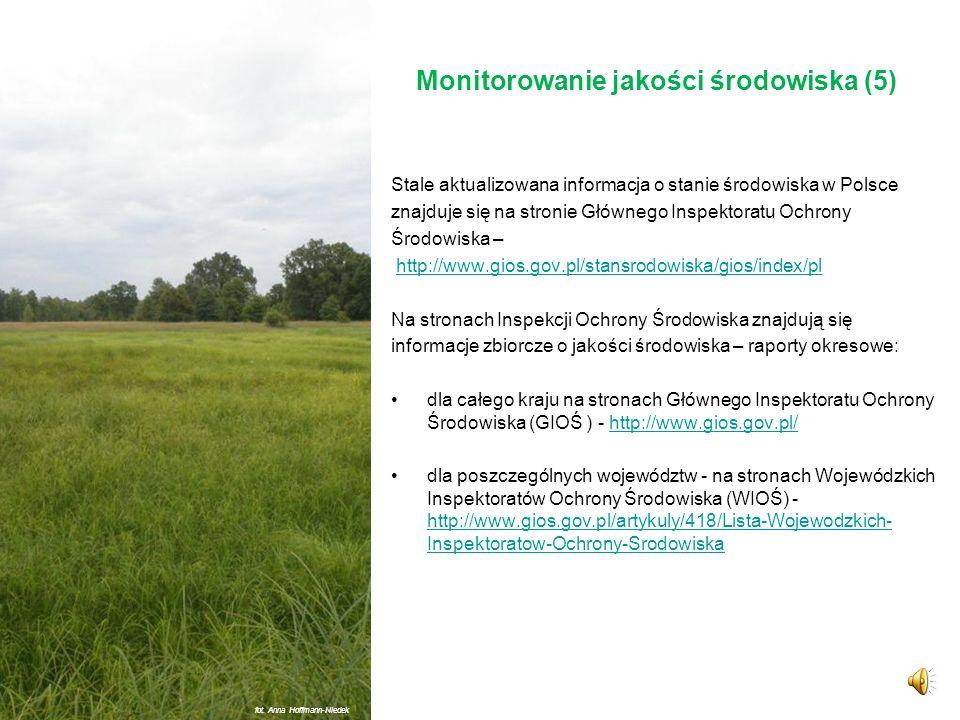 Monitorowanie jakości środowiska (5)
