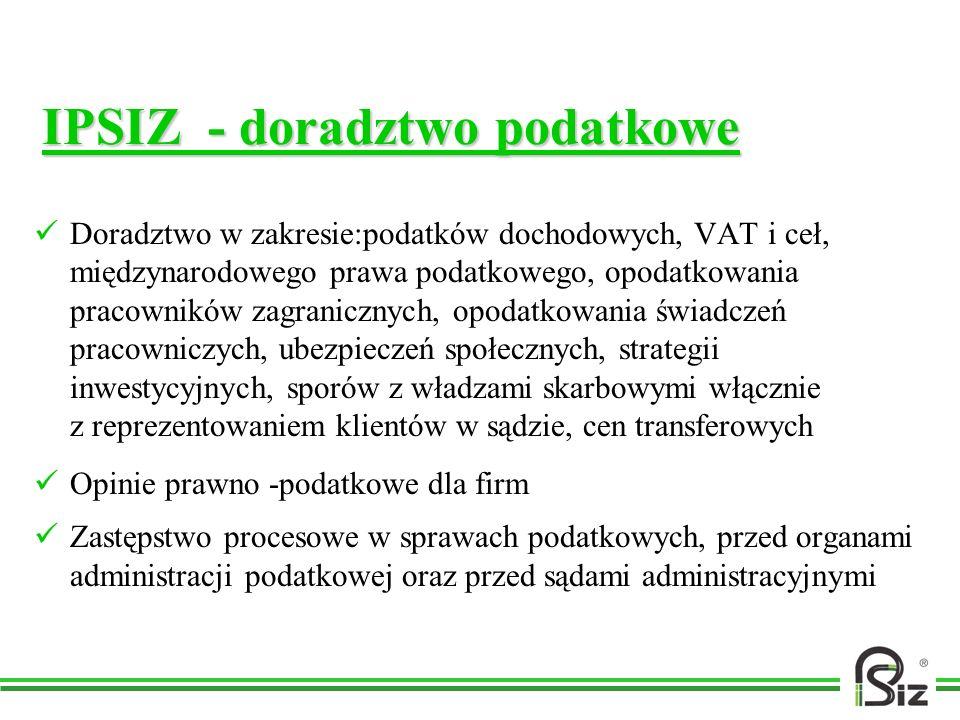 IPSIZ - doradztwo podatkowe