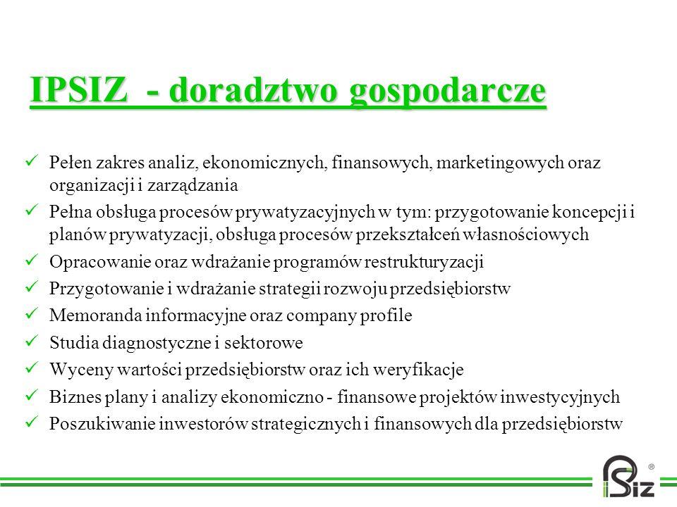 IPSIZ - doradztwo gospodarcze