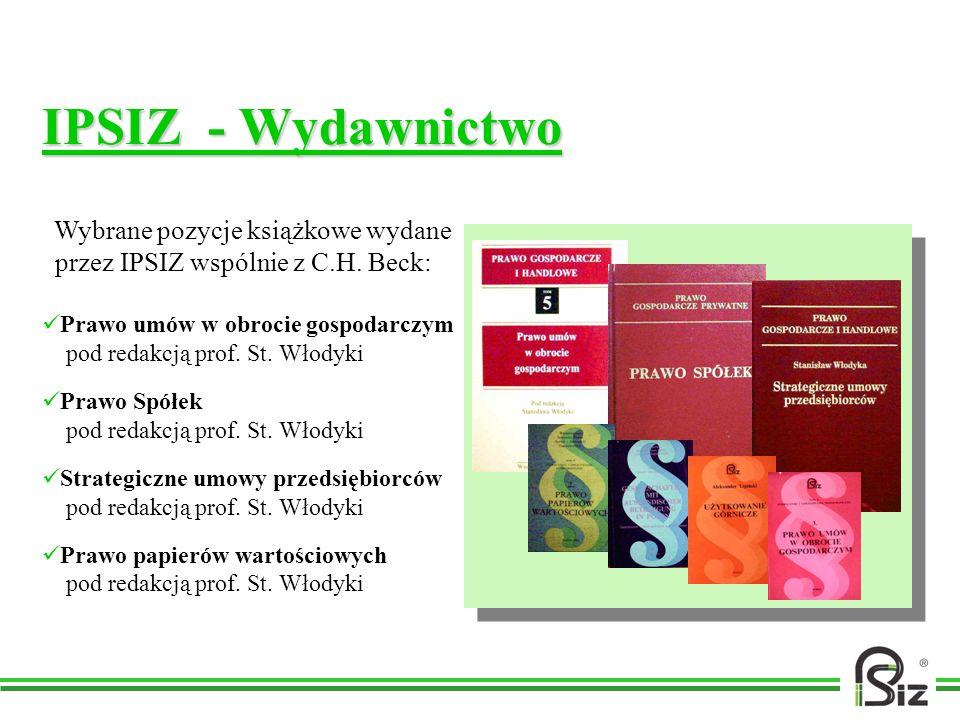 IPSIZ - Wydawnictwo przez IPSIZ wspólnie z C.H. Beck: