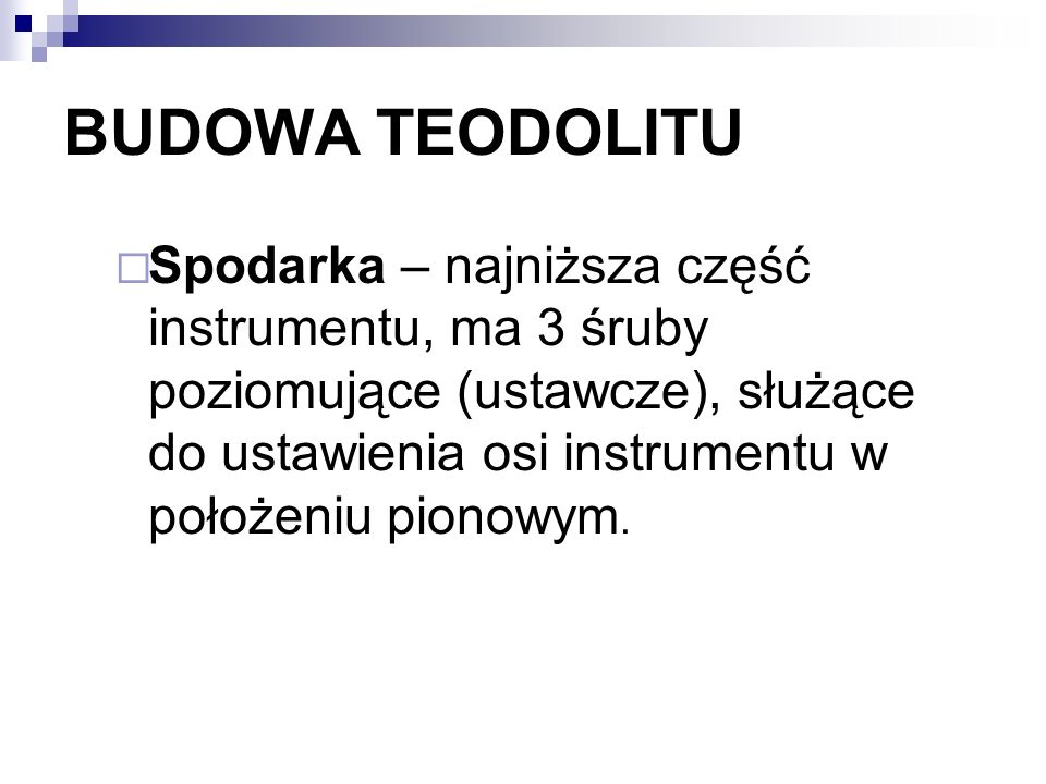 BUDOWA TEODOLITU