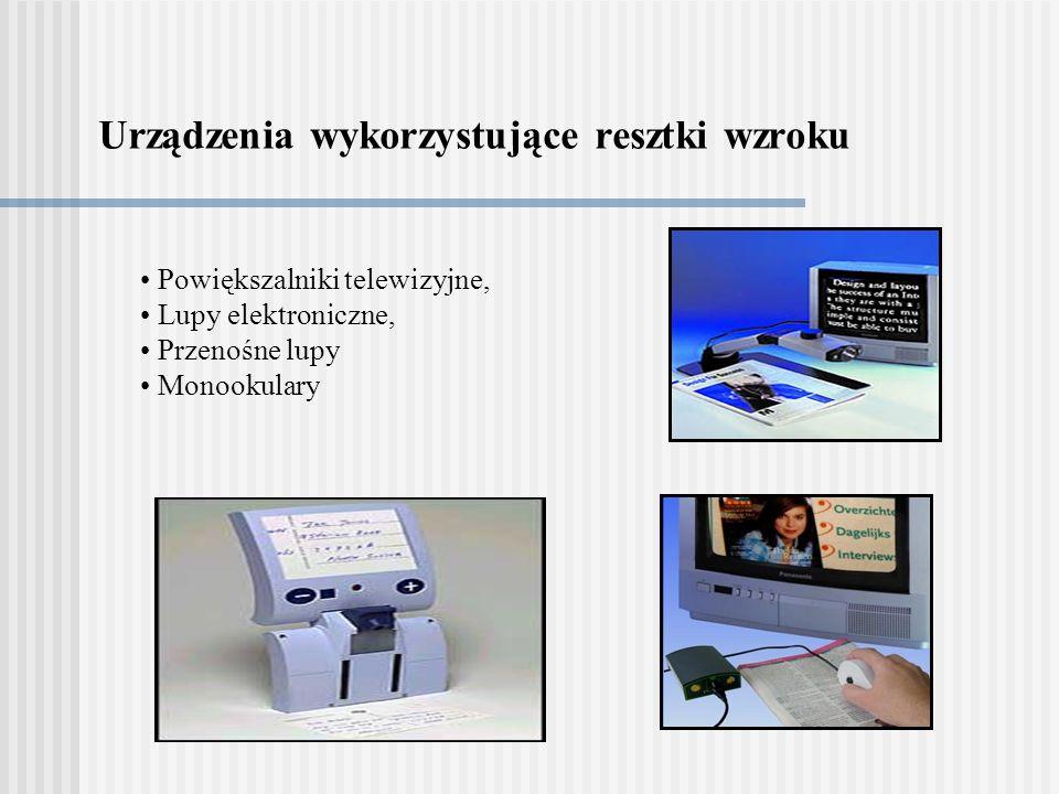 Urządzenia wykorzystujące resztki wzroku