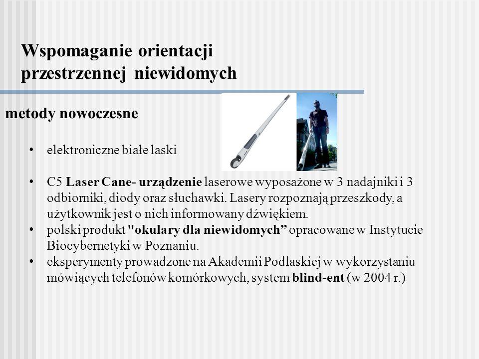 Wspomaganie orientacji przestrzennej niewidomych