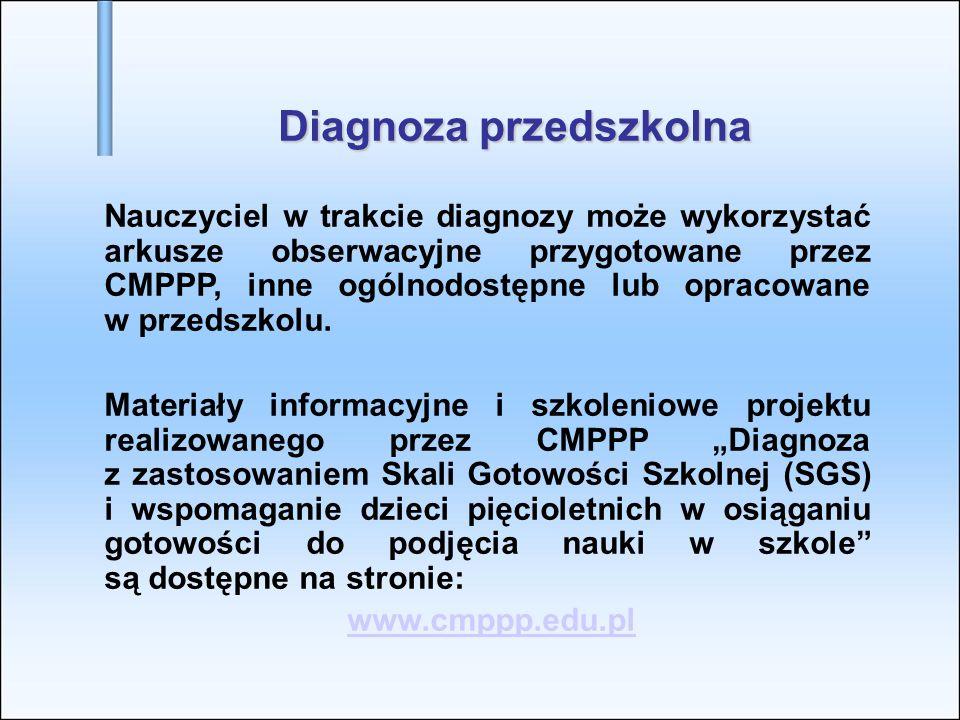 Diagnoza przedszkolna