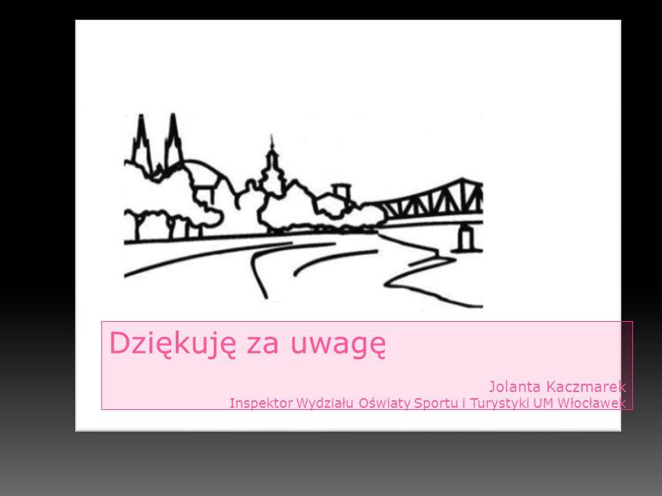 Dziękuję za uwagę Jolanta Kaczmarek