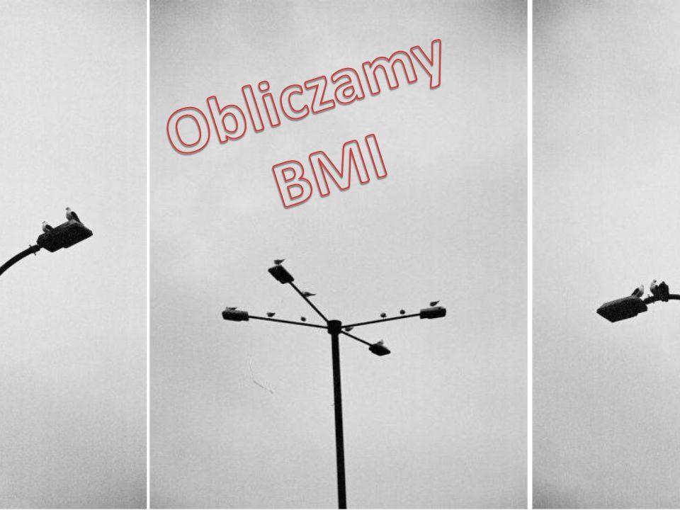 Obliczamy BMI